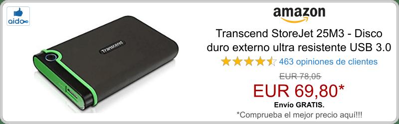 Transcend StoreJet 25M3