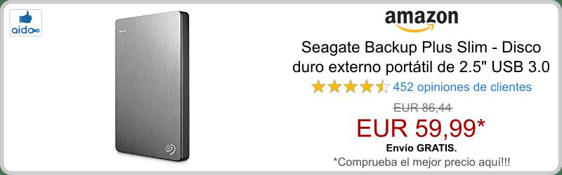Seagate Backup Plus Slim