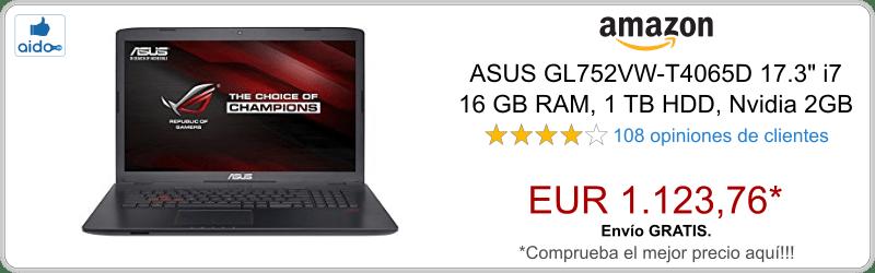 ASUS GL752VW-T4065D