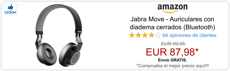 Auriculares Bluetooth Jabra Move