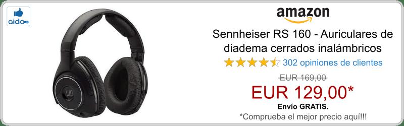 Auriculares Bluetooth Sennheiser RS 160