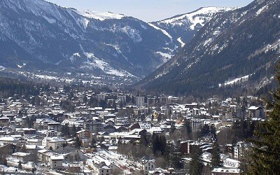 Chamonix Mont Blanc Alpes Franceses