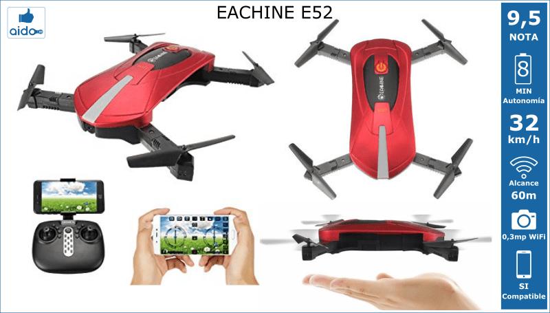 Caracteristicas Drone EACHINE E52