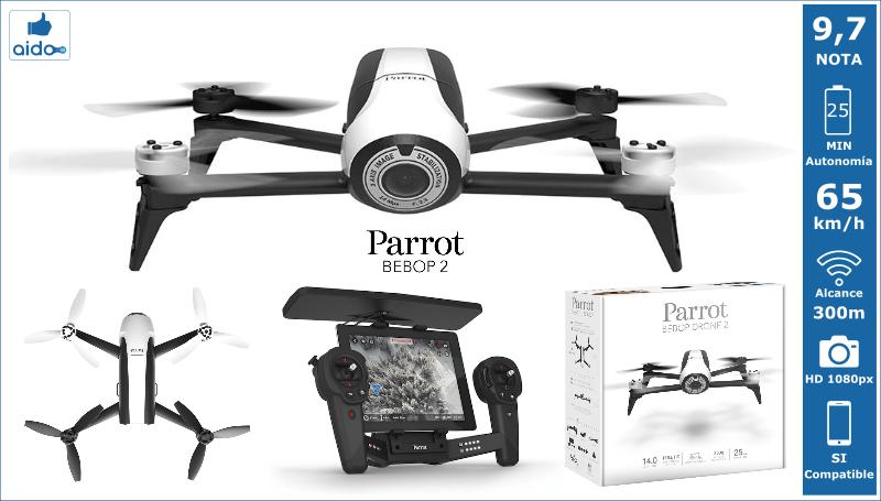 Caracteristicas Drone Parrot Bebop 2