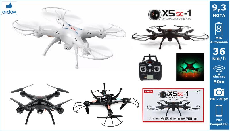 Caracteristicas Drone Syma X5SC-1