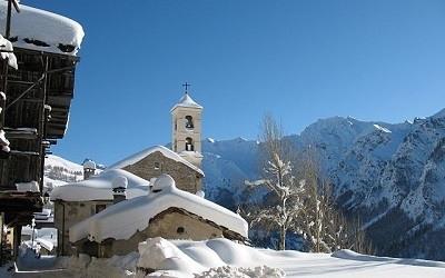 Saint-Véran-Hiver-Queyras Alpes Franceses