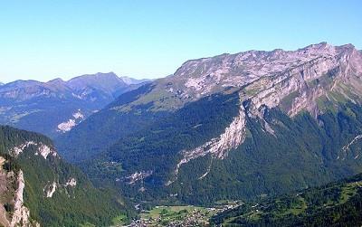 Sixt-Fer-à-Cheval Alpes Franceses