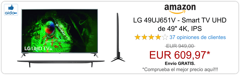 Smart TV LG 49UJ651V