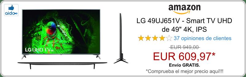 Smart TV LG 49UJ651V
