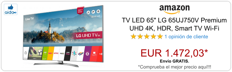 Smart TV LG 65UJ750V