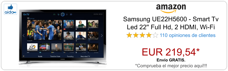 Smart TV Samsung UE22H5600