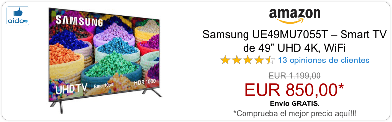Smart TV Samsung UE49MU7055T
