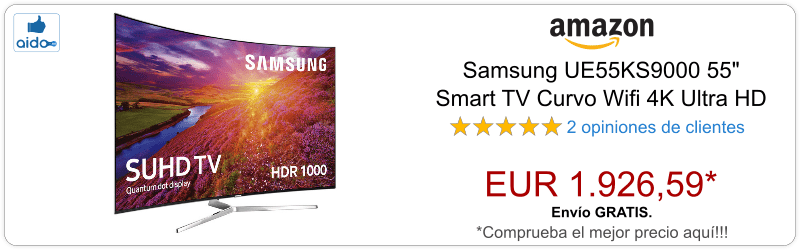 Smart TV Samsung UE55KS9000