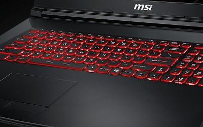 Teclado y touchpad de los ordenadores portátiles