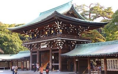 Templo Japones Meiji Jingu