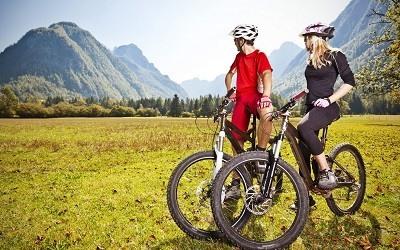 Bicicleta Para Hacer Deporte en Primavera