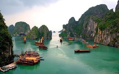 La bahía de Ha Long Vietnan