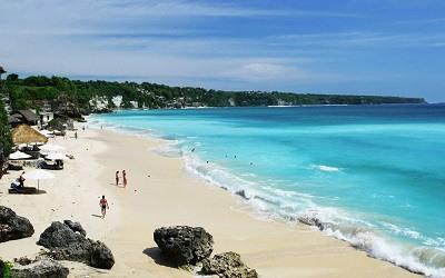 La playa de Kuta Bali