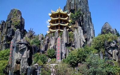 Las Montañas de Mármol de Danang Vietnam