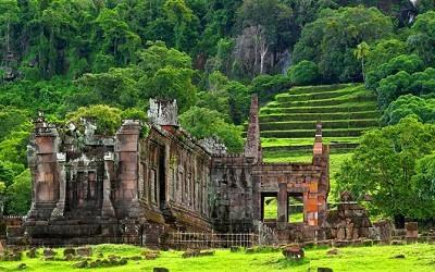 Ruinas de Vat Phou Laos
