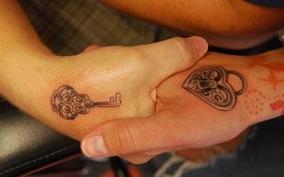 Tatuajes de Pareja Romanticos