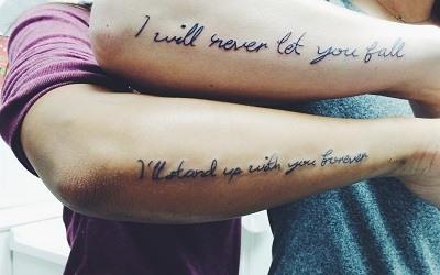 Tatuajes de Pareja de Amistad