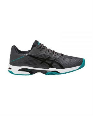 Asics gel solution speed 3 clay gris negro