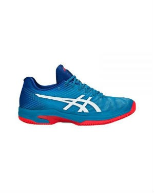 Asics solution speed clay azul