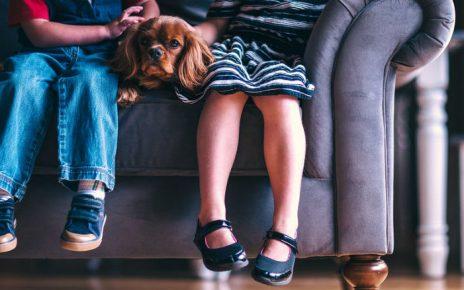 Cuidar hijos con mimo