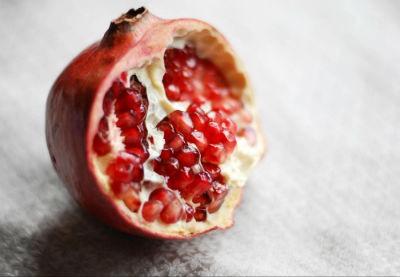 Fruta de invierno granada