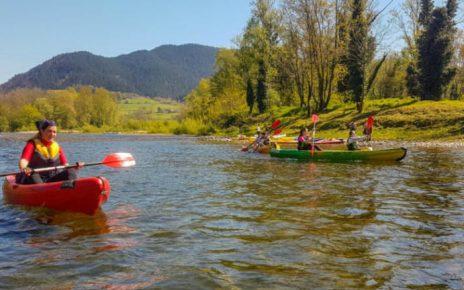 aventura descender rio sella