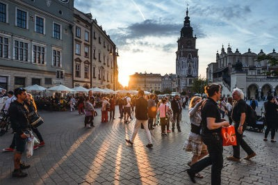 Calles de Cracovia