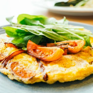 Preparar omelette rapida