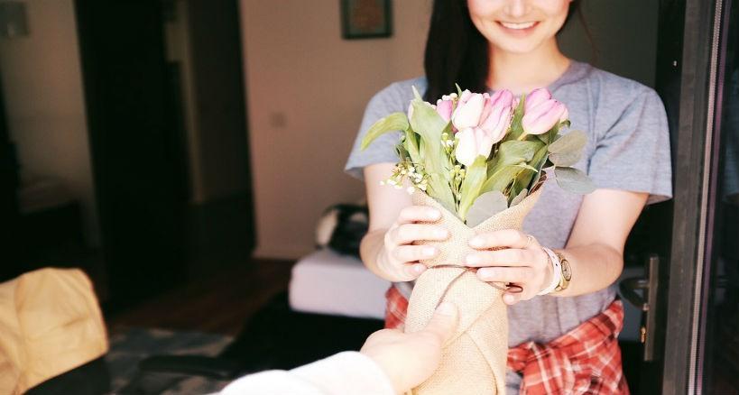flores tulipanes regalo romantico