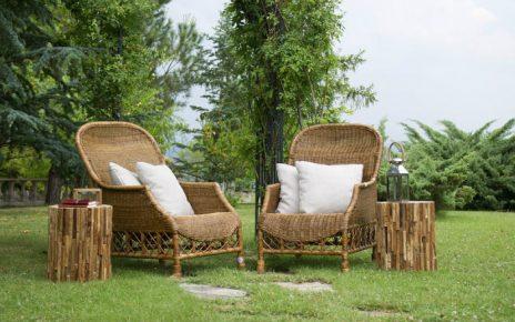 Los muebles de bambú son ideales para el exterior y para diferentes tipos de ambientes interiores