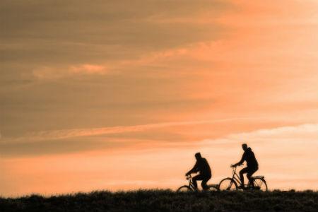 Ciclistas principiantes