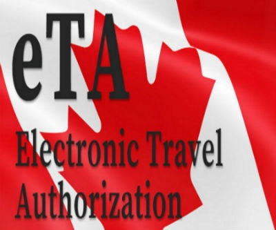 Electronic Travel Authorization Canada