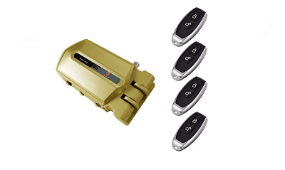 Cerradura Invisible GoldenShield Alarm